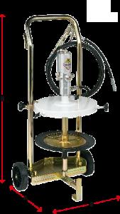 Dimensions-mobile-grease-dispenser-2-wheel-trolley-Permex-Raasm