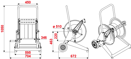 Dimensions-series-560-trolley-hose-reel